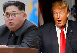 Kim Jong Un - Donald Trump