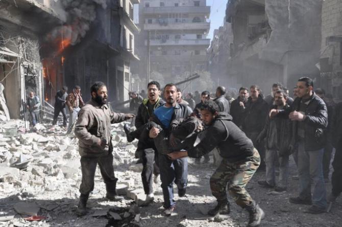 Siria, zonă de conflict