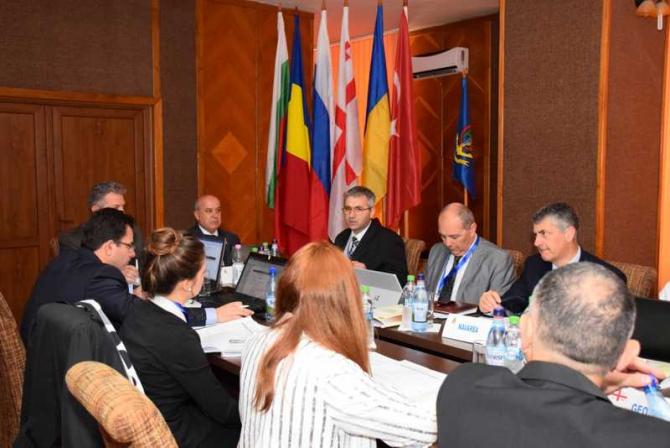 Reuniunea grupului de lucru pentru siguranța navigației în Marea Neagră și Marea Azov (BASWG). navy.ro