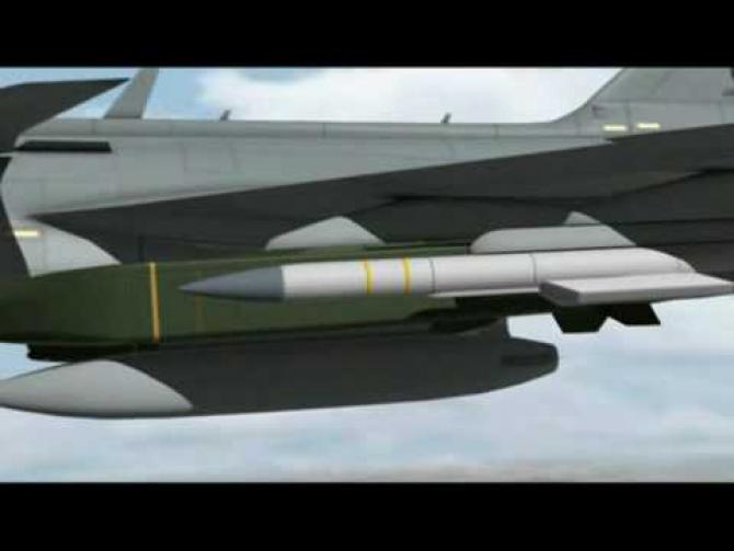 Racheta Sea Venom/ANL, produsă de MBDA, a doua tragere de succes
