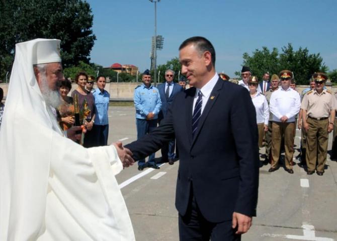 Biserică militară. Mihai Fifor, eveniment alături de Patriarhul României