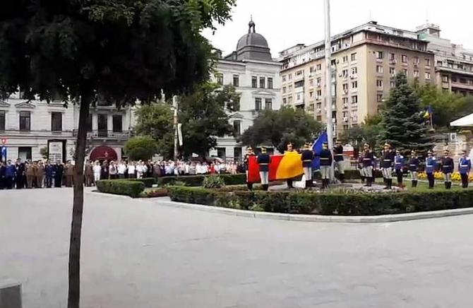 Ziua Drapelului Naţional. Mihai Fifor, mesaj în Piaţa Tricolorului