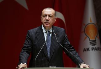 președintele turc Recep Tayyp Erdogan