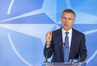 Secretarul General al Alianţei Atlanticului de Nord, Jens Stoltenberg