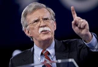 John Bolton, consilierul pentru securitate naţională al preşedintelui Donald Trump