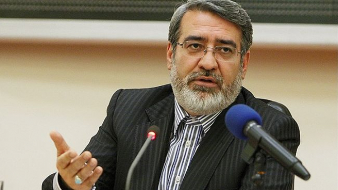 ministrul de interne iranian, Abdolreza Rahmani Fazli