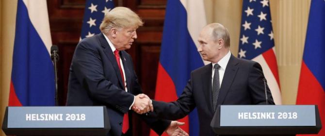 Donald Trump si Vladimir Putin- Summit Helsinki