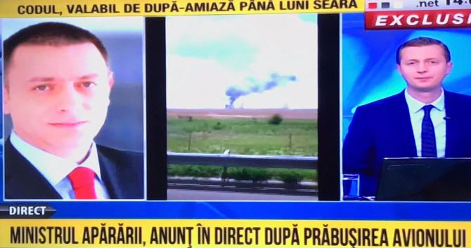 Mihai Fifor, despre avionul prăbușit