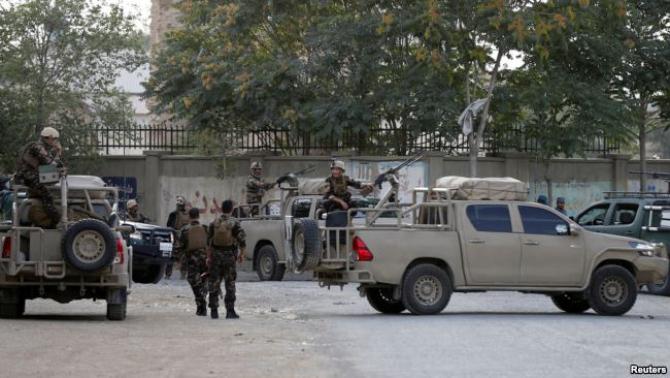 Forțele de securitate afgane