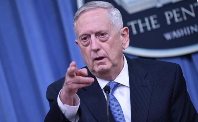 Secretarul american al apărării, Jim Mattis