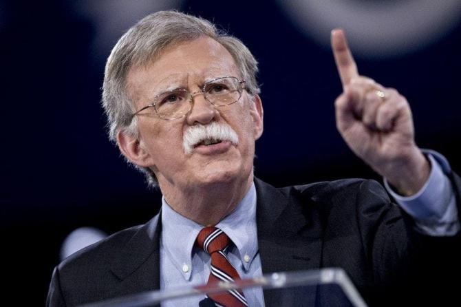 consilierul naţional pentru securitate, John Bolton