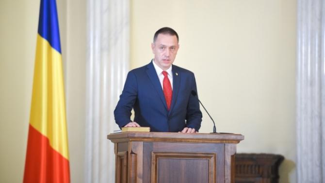 Ministrul interimar al Afacerilor Interne, Mihai Fifor