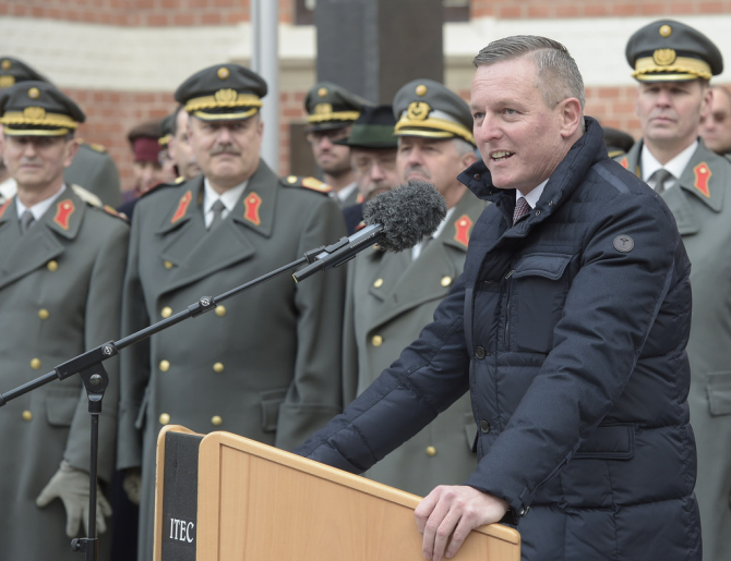 Ministrul austriac al apărării, Mario Kunasek