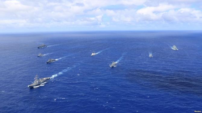 Navele din SUA, marinele din Chile