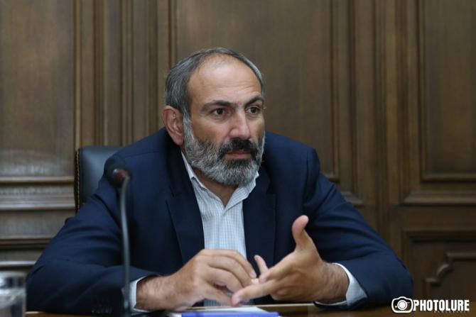 premierul armean, Nikol Pashinyan