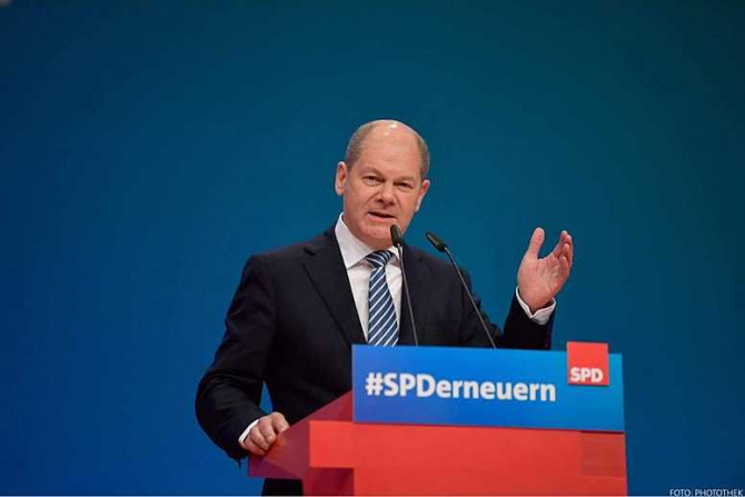 Ministrul finanţelor german, Olaf Scholz