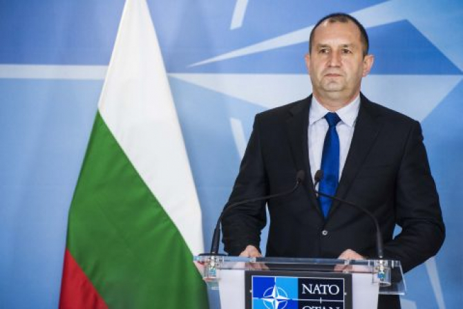 Preşedintele bulgar Rumen Radev