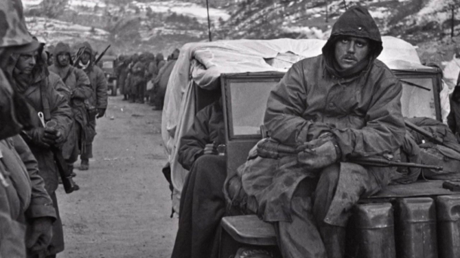 Foto: Soldați americani în Războiul din Coreea (1950 – 1953)