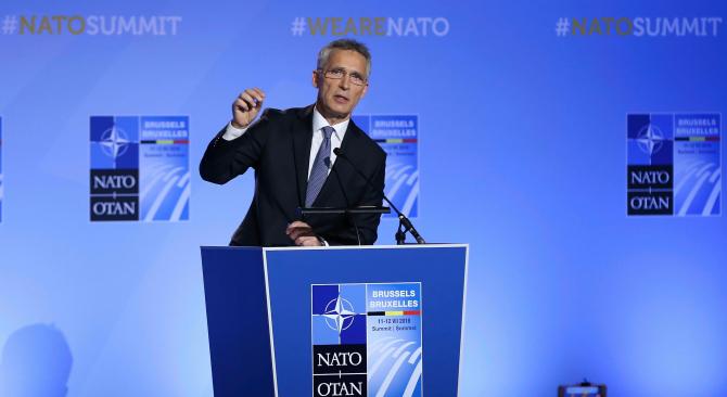 secretarul general la NATO, Jens Stoltenberg