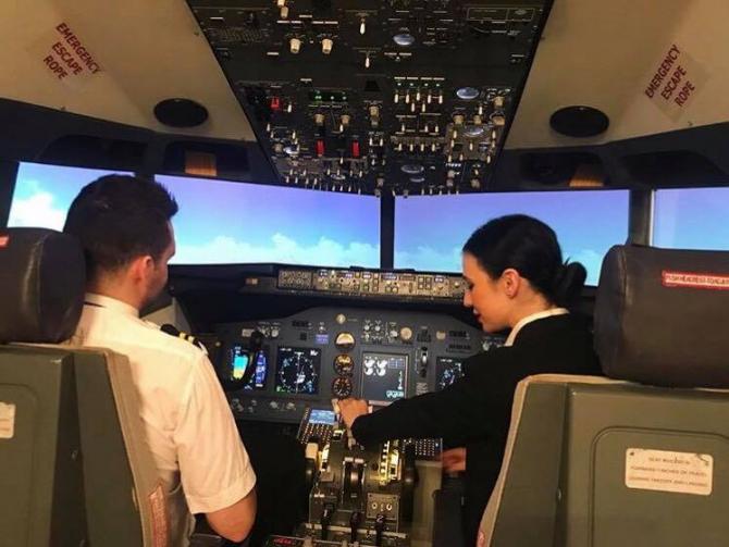 Simulator piloți