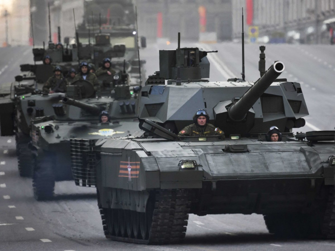 tancul rusesc T-14 Armata