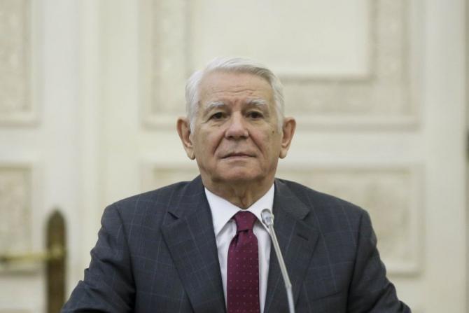 Ministrul afacerilor externe, Teodor Meleșcanu