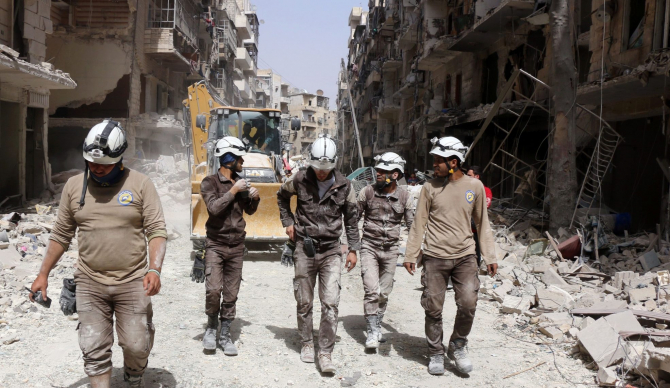 Helmets White