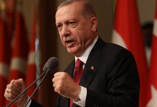 președintele Turciei, Recep Tayyp Erdogan