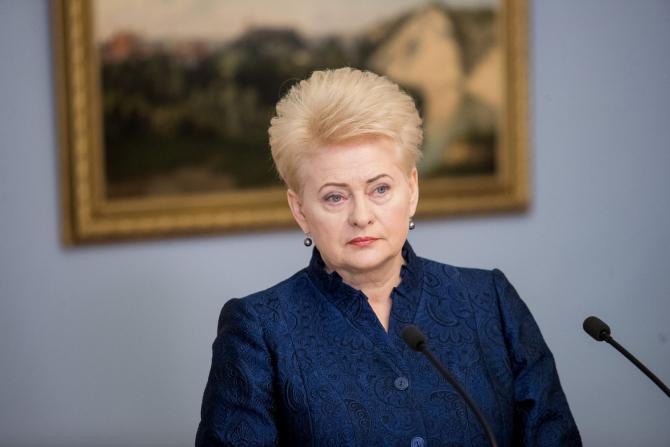 preşedinta Lituaniei, Dalia Grybauskaite