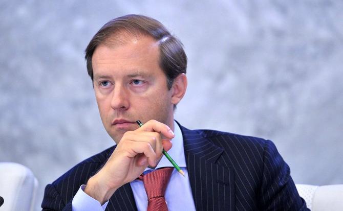 ministrul industriei și comerțului din Rusia, Denis Manturov