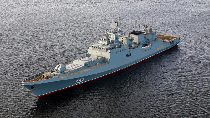 """fregata """"Amiral Essen"""" din cadrul Flotei ruse din Marea Neagră"""