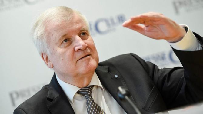 Ministrul de interne al Germaniei, Horst Seehofer