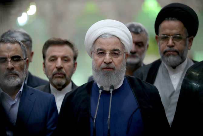 Preşedintele Iranului, Hassan Rohani