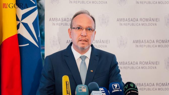 ambasadorul României la Chişinău, Daniel Ioniţă