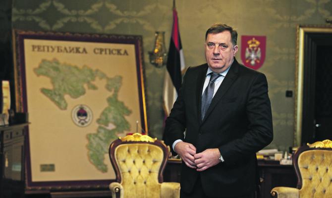 Liderul entităţii sârbilor bosniaci, Milorad Dodik