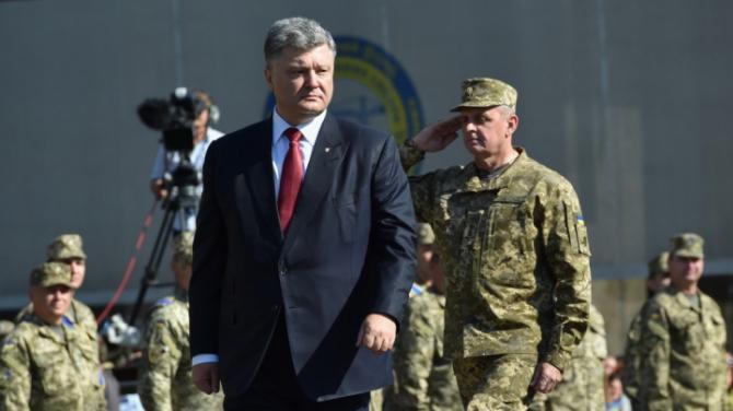 Preşedintele ucrainean, Petro Poroşenko