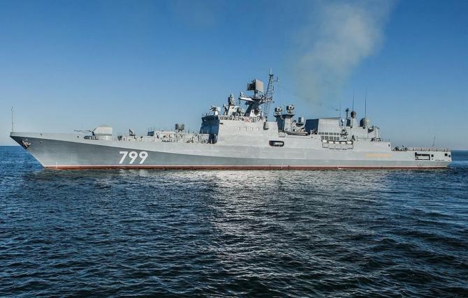 fregata rusa Amiral Makarov