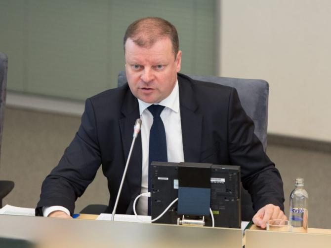 premierul Lituaniei, Saulius Skvernelis