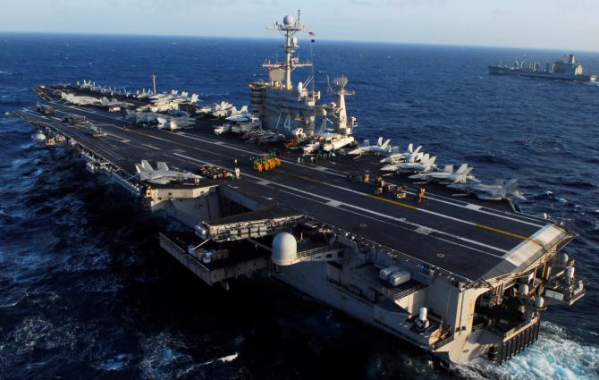 portavionului cu propulsie nucleară USS John C. Stennis (CVN 74)
