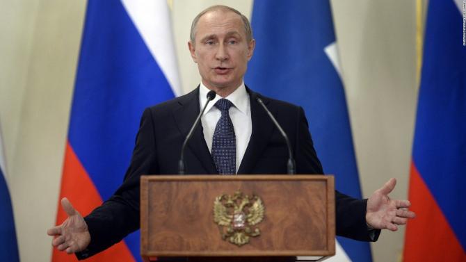 preşedintele Rusiei, Vladimir Putin