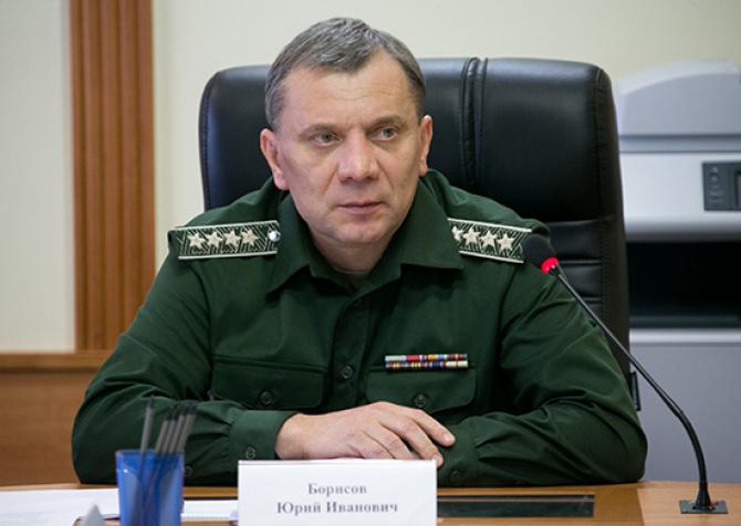 vicepremierul rus Yuri Borisov