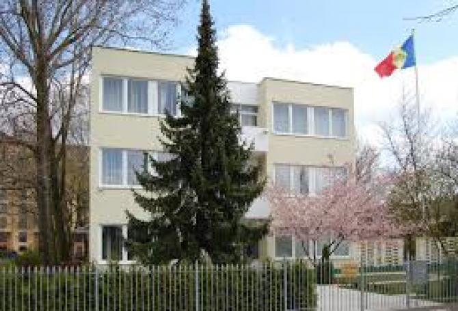 cladirea ambasadei Republicii Moldova din Germania