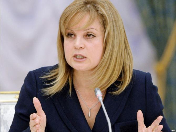 preşedinta Comisiei Electorale Centrale, Ella Pamfilova