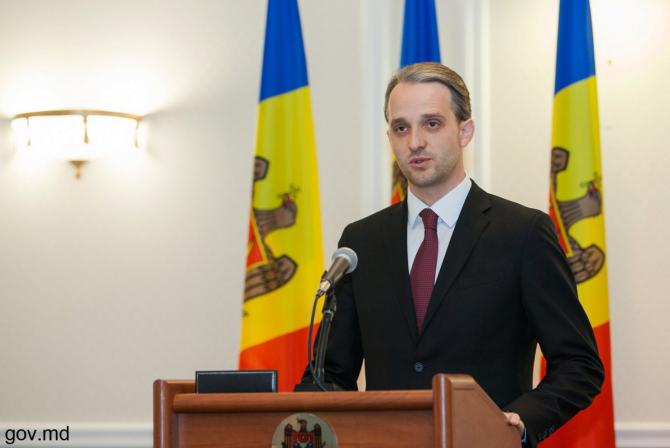 ministrul apărării Republicii Moldova, Eugen Sturza