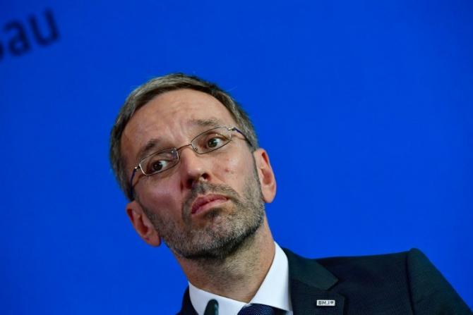 Ministrul Afacerilor Interne al Austriei, Herbert Kickl