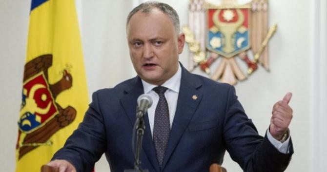 Preşedintele Republicii Moldova, Igor Dodon
