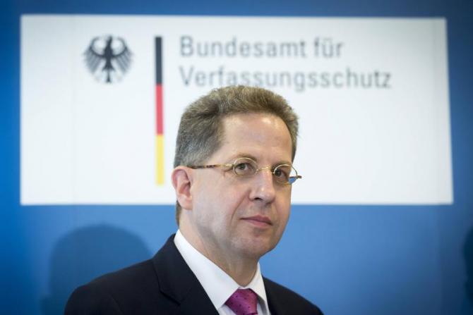 Şeful Serviciului de Informaţii Interne (BfV), Hans-Georg Maassen,