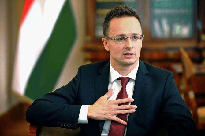 Ministrul afacerilor externe al Ungariei, Peter Szijjártó