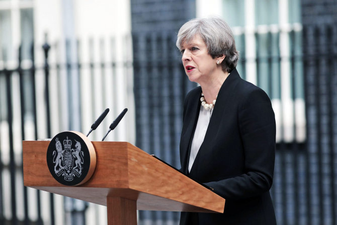 Premierul britanic, Theresa May