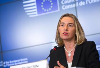 Înaltul reprezentant al Uniunii Europene pentru afaceri externe și politici de securitate, Federica Mogherini